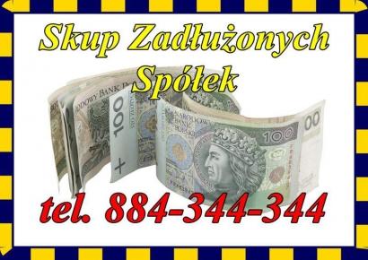 Skup Zadłużonych Spółek/JDG oraz Nieruchomości/Mieszkań/Działek/Domów