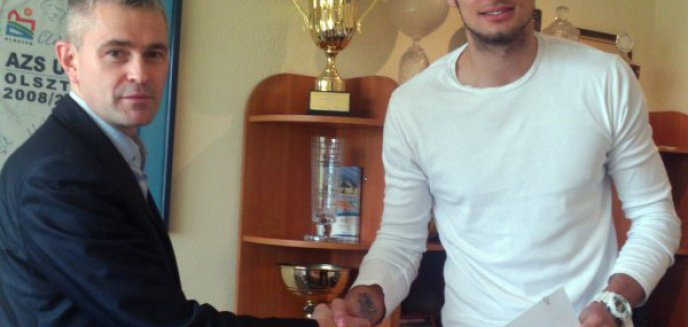 Artykuł: Piotr Hain przedłużył kontrakt z AZS-em