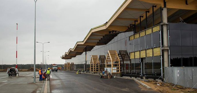 Artykuł: Regionalny Port Lotniczy Olsztyn – Mazury nabiera kształtów (zdjęcia)