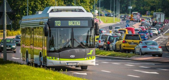 Elektryczny autobus na ulicach Olsztyna [ZDJĘCIA]