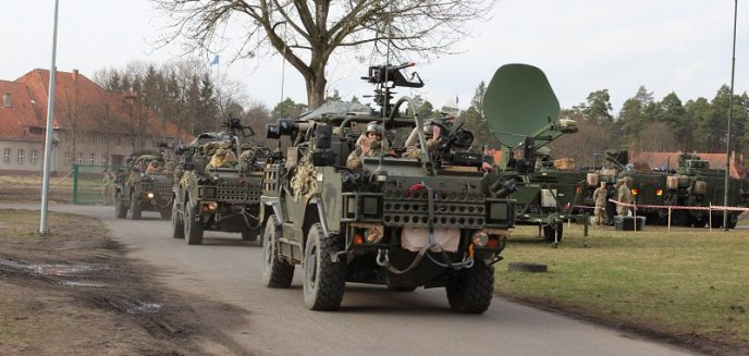 Artykuł: Żołnierze NATO dotarli do Orzysza