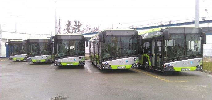 Nowe autobusy wyjechały na olsztyńskie ulice