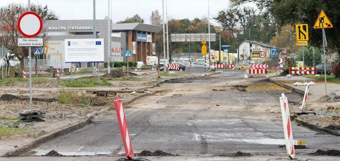 Artykuł: Trwa przebudowa ulicy Towarowej. Kierowcy czekają na otwarcie Budowlanej i Leonharda