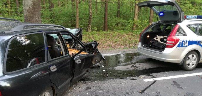 Artykuł: Policyjny pościg za kierowcą. Zablokowali drogę na trasie Olsztyn-Dywity [ZDJĘCIA]