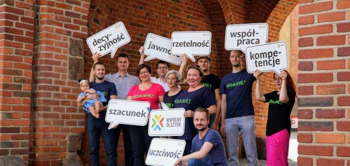 Artykuł: Twórcy ruchu społecznego ''Wspólny Olsztyn'' wystartują w wyborach. To znani społecznicy