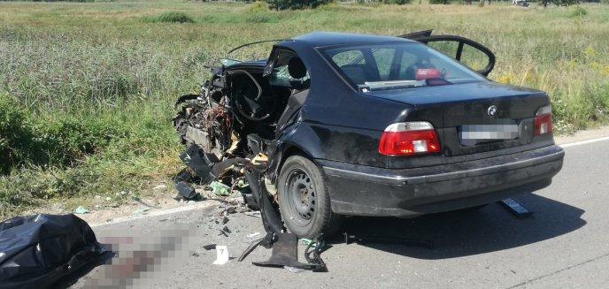 Artykuł: Wypadek w Bartągu. Jedna osoba nie żyje [ZDJĘCIA]