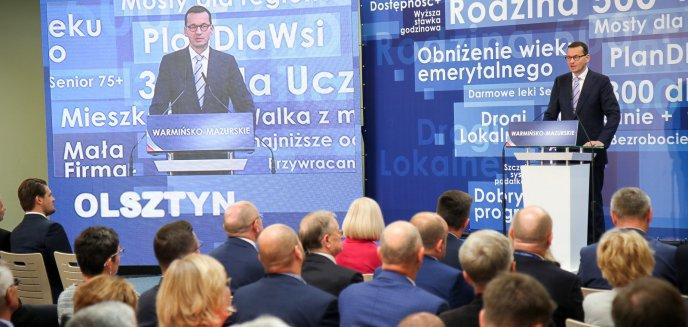 Artykuł: Konwencja wyborcza PiS w Olsztynie. W tle protesty KOD-u i ratowników medycznych [ZDJĘCIA, WIDEO]