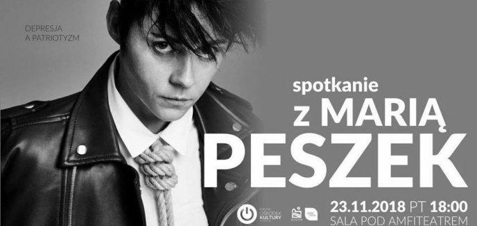 Artykuł: ''Depresja a patriotyzm''. Spotkanie z Marią Peszek w Olsztynie