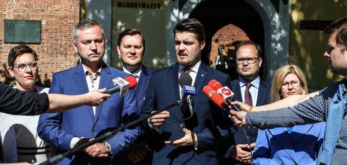 Artykuł: Niedoszły prezydent Olsztyna jako radny: ''Będę surowym recenzentem, ale i partnerem do dialogu''