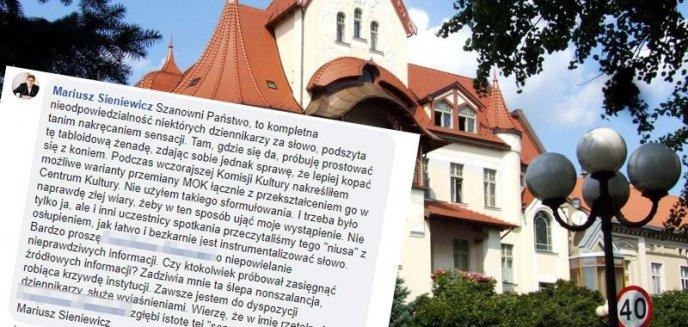 Artykuł: Dyrektor MOK-u chce zamknąć instytucję, którą kieruje? ''Tabloidowa żenada''