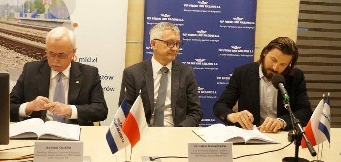 Artykuł: Podpisano umowę ws. rewitalizacji linii kolejowej z Olsztyna do Gutkowa