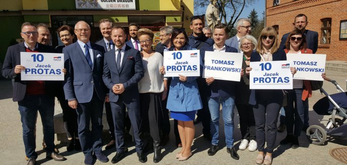 ''Franek - łowca bramek'' w Olsztynie