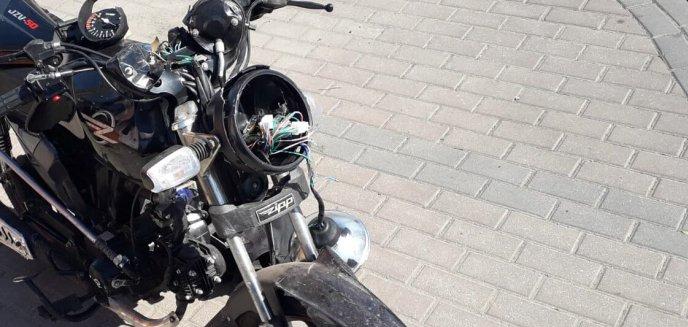 Artykuł: Tragedia w Barczewie. Nie żyje 80-letni motorowerzysta