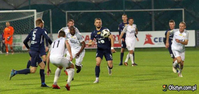 Stomil nie zgubił się w Puszczy. ''Biało-niebiescy'' przywożą do Olsztyna trzy punkty [ZDJĘCIA]
