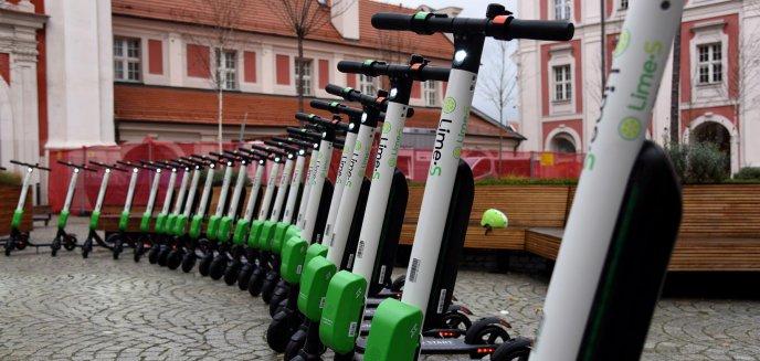 Artykuł: Czy elektryczne hulajnogi mają szansę trafić Olsztyna?