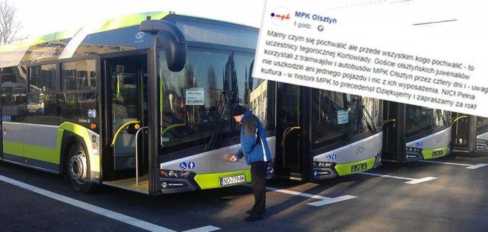 Artykuł: MPK Olsztyn pod wrażeniem po Kortowiadzie. Studenci... nic nie zniszczyli