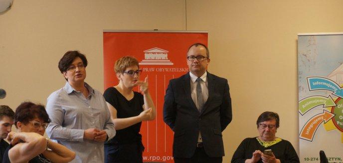 Rzecznik Praw Obywatelskich wysłuchał problemów olsztynian