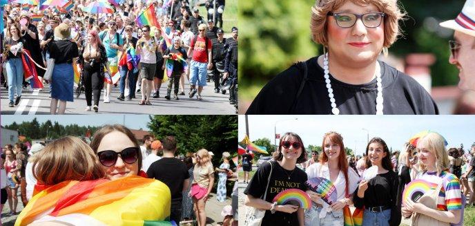 Pół tysiąca osób na Marszu Równości w Olsztynie  [ZDJĘCIA, WIDEO]