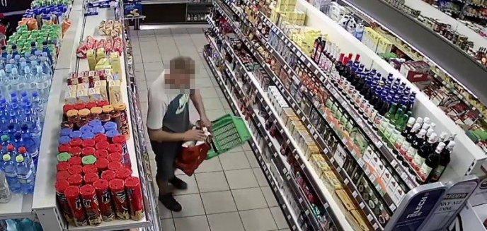 Przez trzy miesiące kradł w olsztyńskich marketach. Mieszkaniec Suwałk w końcu wpadł