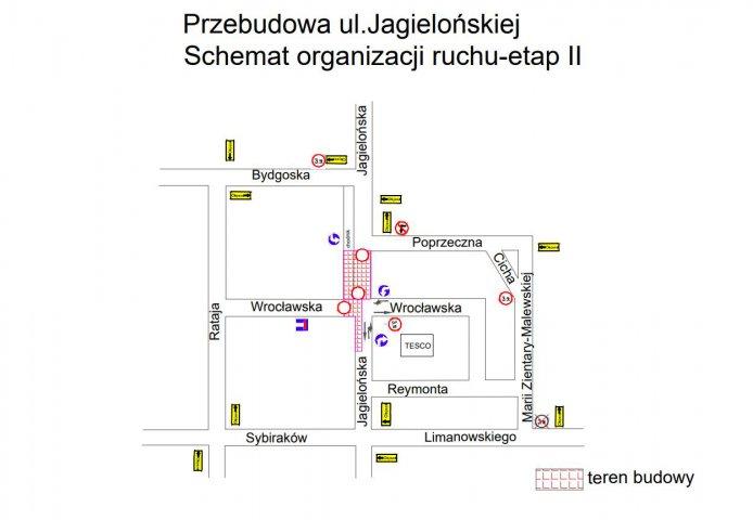 Zmiany Na Ul Jagiellońskiej Później Niż Przewidywano