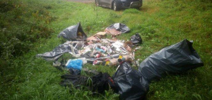 Artykuł: Śmieciarze w natarciu. Jeden zaśmiecił las, inny tereny zielone Olsztyna