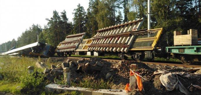 Artykuł: Linia kolejowa koło Olsztynka jeszcze nieczynna, a już doszło do pierwszego wykolejenia