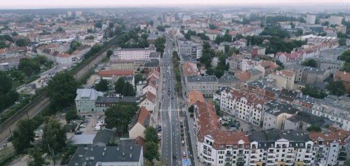 Zobacz, jak wygląda ulica Partyzantów z lotu ptaka [WIDEO]