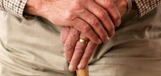 Staruszek oddalił się od szpitala. Chodził al. Sybiraków w samej piżamie i z wenflonem