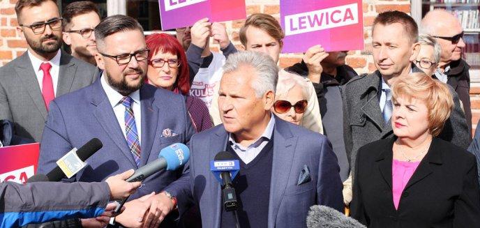 Artykuł: Prezydent Aleksander Kwaśniewski w Olsztynie. Wsparł Lewicę [ZDJĘCIA]