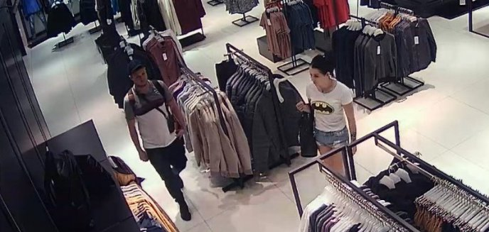 Artykuł: Ukradli ubrania o wartości ponad 700 zł. Pomóż policji ustalić dane tej pary