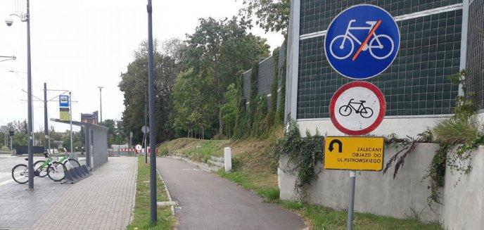 Artykuł: ''Jedna z głównych tras rowerowych jest zamknięta bez sensownego objazdu''. Dlaczego?