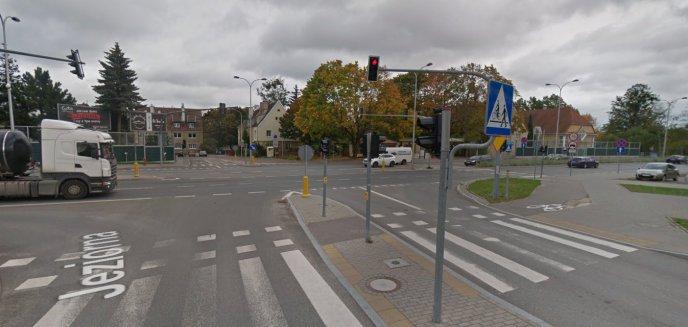 Czy na skrzyżowaniu Bałtycka/Jeziorna/al. Przyjaciół jest niebezpiecznie?