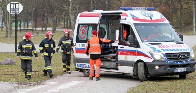 Artykuł: Tragiczny wypadek pod Olsztynem. Pasażer zginął, kierowca pijany