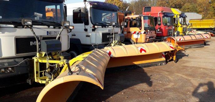 Artykuł: Olsztyn przygotowany na zimę. Prawie 500 tys. zł na utrzymanie dróg