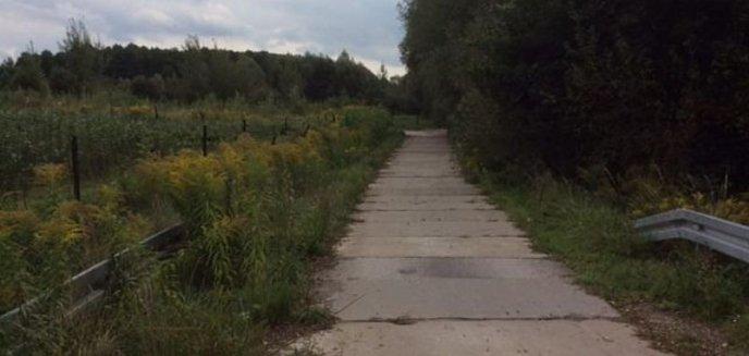 Artykuł: Czy zamknięty objazd łączący os. Generałów z Brzezinami może stać się drogą rowerową?