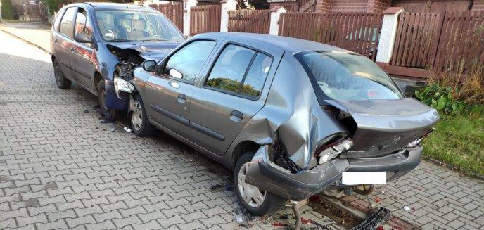 Nadmierna prędkość, alkohol i brak prawa jazdy to przyczyny groźnych kolizji [ZDJĘCIA]