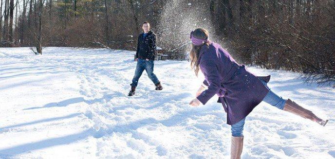 Dekada z zimą w Olsztynie. Kiedy spadł pierwszy śnieg? Czy było zimno? [INFOGRAFIKA]