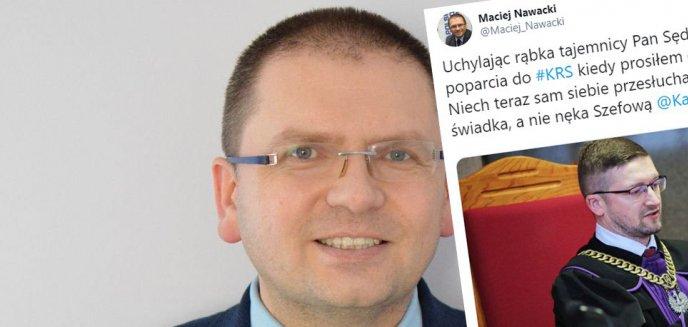 Maciej Nawacki, prezes Sądu Rejonowego w Olsztynie: ''Pan sędzia Juszczyszyn widział już listę poparcia do KRS''