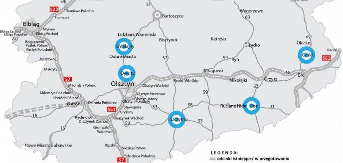 Rządowy plan na 100 obwodnic. Na liście m.in. północna obwodnica Olsztyna
