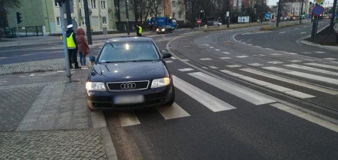 Artykuł: Zderzenie dwóch aut w centrum Olsztyna [AKTUALIZACJA]