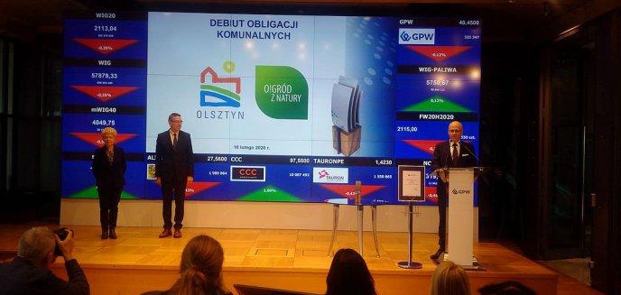 Artykuł: Gmina Olsztyn zadebiutowała na giełdzie
