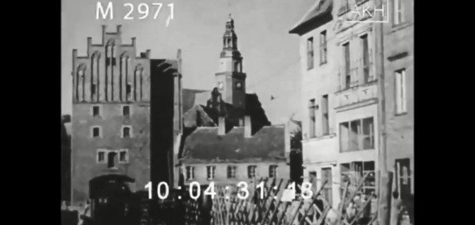 Olsztyn w latach 40. XX wieku. Czy zaszły duże zmiany? [WIDEO]