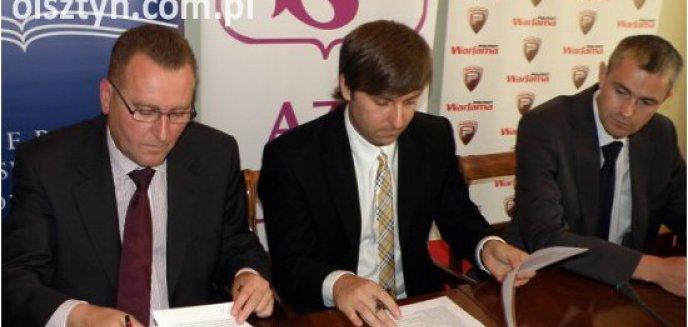 Artykuł: AZS Olsztyn przedstawił sponsora i zawodnika