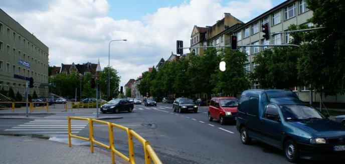 Artykuł: Roboty drogowe na skrzyżowaniu przy olsztyńskiej Filharmonii