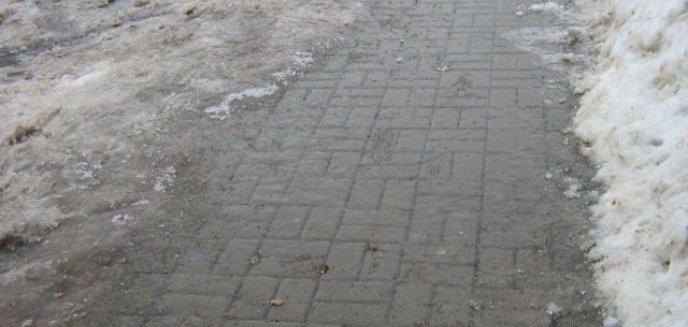 Artykuł: Uwaga! Gołoledź na drogach i chodnikach