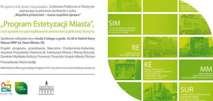 Artykuł: Przedstawią pomysły na wizerunek przestrzenny Olsztyna
