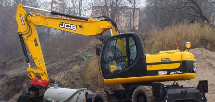 Artykuł: Ulica Artyleryjska -  teren budowy
